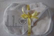 Towelling & Fleece Wipes White Pack 10, 15 or 20